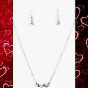 Variety Champagne Cabaret Necklaces with earrings